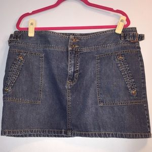 Dresses & Skirts - Denim mini skirt